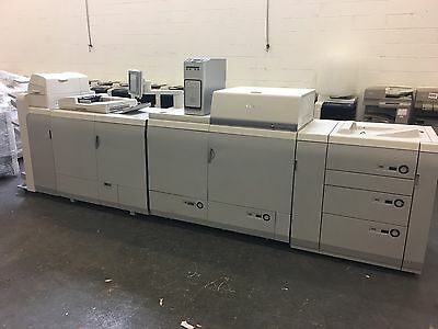 Canon Imagepress  C6010  With Fiery A1200  & Finisher Stapler