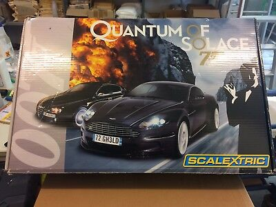 Scalextric Sport Rennbahn James Bond Quantum of Solace 007 C1220