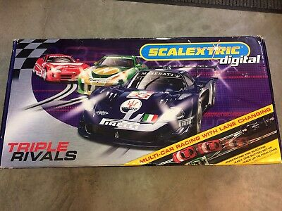 Scalextric C1174 Sport Digital Triple Rennbahn ovp