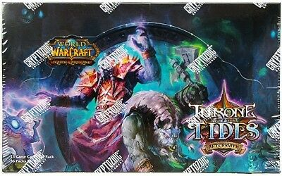 Wow World Of Warcraft Tcg : Throne Of The Tides Complete Master Set