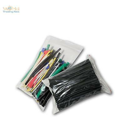 200 Piece Heat Shrink Tube Multicolour, Insulating Hose Range, Set Loose in Bag