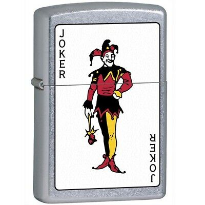 Zippo Joker Street Chrome Pocket Lighter