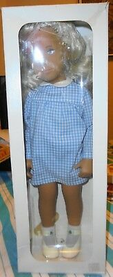 Vintage Sasha Blonde In Gingham Dress - Mint In The Box #107 - Local Estate Find