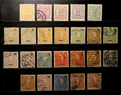 Zambezia, Portugal: 1894-1903 Classic Era Stamp Collection