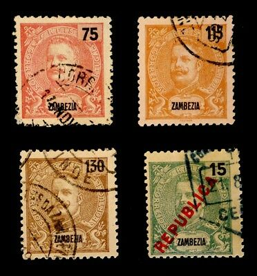 Zambezia, Portugal: Classic Era Stamp Collection Of Better Cv $26.25 Sound