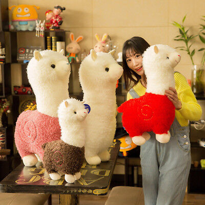 Cute Grass Mud Horse Llama Alpaca Sheep Fleece Stuffed Doll Plush Toys Xmas Gift