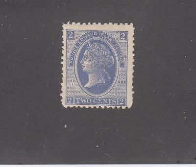 PRINCE EDWARD ISLAND # 16 MH 12cts VIOLET QUEEN VICTORIA