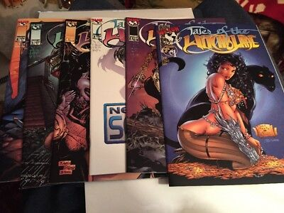 Tales Of The Witchblade #1 1-6 Image Comics Lot Great Condition Free Shipping