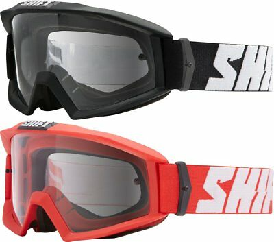 Shift Racing Nano Over Helmet MX Motocross Goggles with Tear-Off Posts