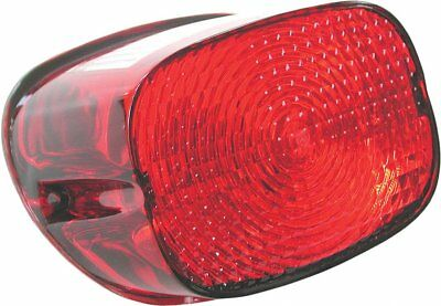 HardDrive OE Style Tail Light Lens Replacement For Harley-Davidson Red 12-0018