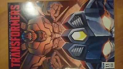 IDW Transformers till all are one #11 sub cvr