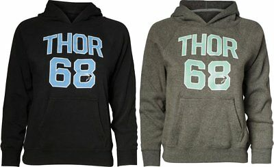 Thor Youth Girls Team Cotton Blend Pullover Hoody