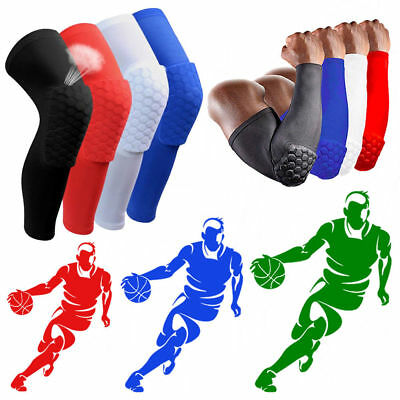 Knee Pads Basketball Support Lengthen Breathable Compression Sleeves Protection