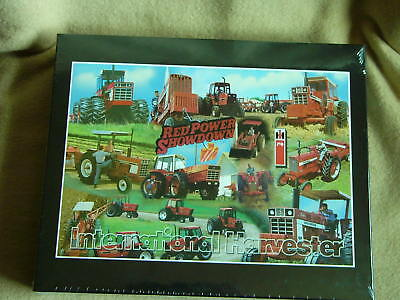 RED POWER SHOWDOWN-IH Tractor Puzzle-784,1066,1566,3588