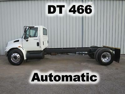 4300 Dt-466 Automatic Cab Chassis Straight Frame Truck Non-Cdl 92-K Low Miles