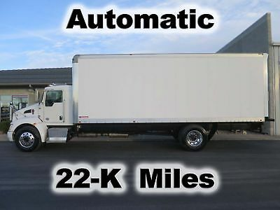 T270 6.7 Paccar Cummins Automatic 24Ft Box Cube Van Delivery Truck 22-K Miles