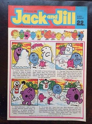 Jack And Jill Comic 17 December 198 Vf+/nr Mint.  Unread Unsold Newsagents Stoc.