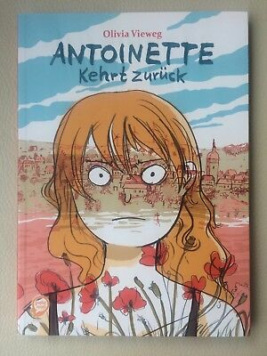 ANTOINETTE kehrt zurück, OLIVIA VIEWEG, Egmont, Graphic Novel !