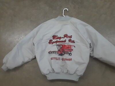 Vintage Case IH  International Harvester Coat Jacket 1680 Combine Maybille ND