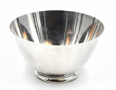 Vintage Tiffany & Co Makers Footed Centerpiece Bowl 925 Sterling Silver 23865