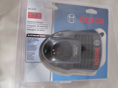 BOSCH 12V Lithium Ion Battery Charger BC330 Li-ION FREE USA Shipping!