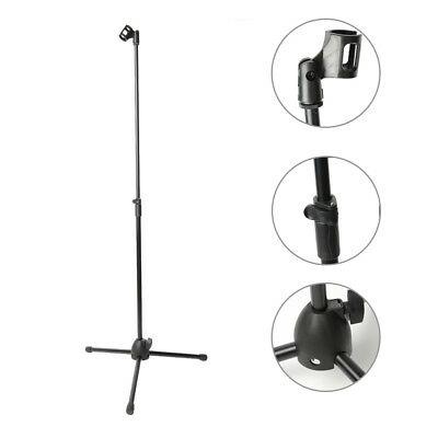 NB-106 Folding Type Adjustable Height Steel ABS Practical Microphone Stand