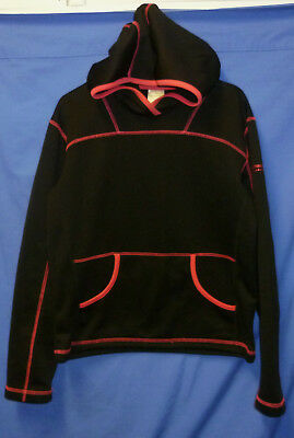 "Girls 38"" Size 12 Kathmandu Fleece Lined Hoodie Windcheater Warm Top Stretches"