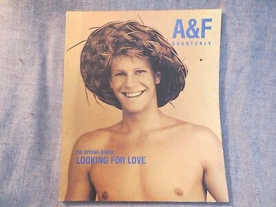 Abercrombie & Fitch Quarterly Catalog Magazine Spring Issue 1998