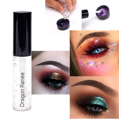 1pc/3pcs 15g Fixative Fix Gel Body Face Lip Eye Shadow Glitter Glue Cosmetics