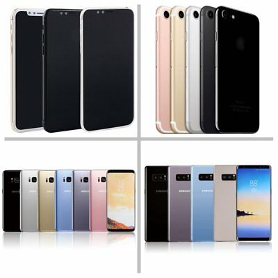 1:1 Non Working Dummy Display Toy Fake Phone Model For iPhone X 7 Samsung Note 8