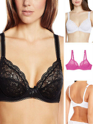 4b3fe59a4f51d Bestform Luccia 17409 Underwired Supportive Plunge Non Padded Lace Bra