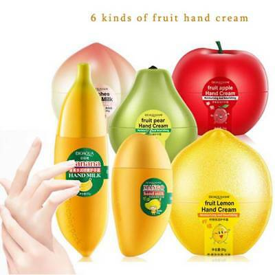 Smooth Fruit Moisturizing Anti-aging Hand Cream Hand Care Whitening Non-greasy♡♡