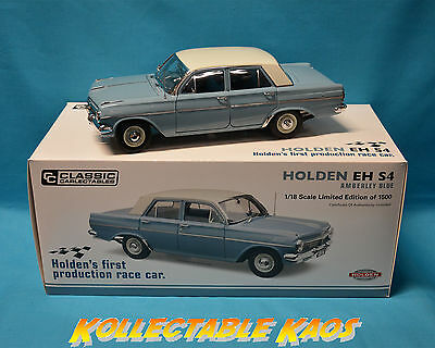 1:18 Classics - Holden EH S4 - Amberley Blue - BRAND NEW