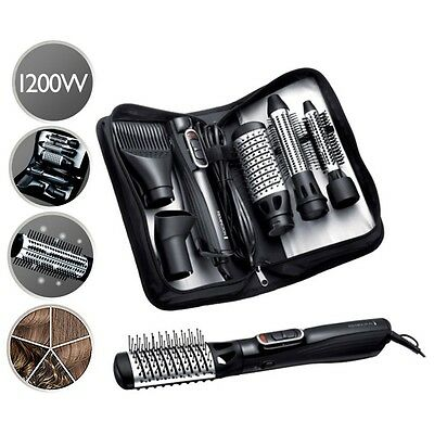 Remington AS1220 Amaze Smooth and Volume 1200 Watt 5 in 1 Ionic Airstyler