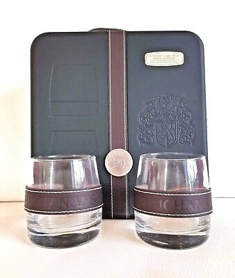 Buchanan's Scotch Whiskey RARE Gift Box with 2 Glasses