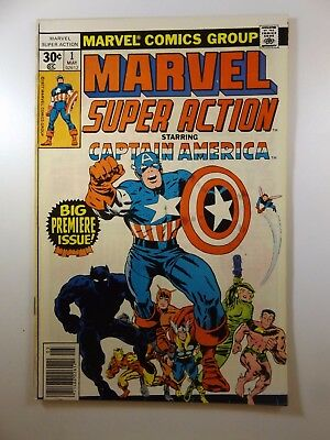 Marvel Super Action #1 Starring Captain America! Beautiful VF-NM Condition!!