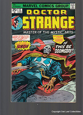 Dr Strange 12 Marvel Comic Book 1976 VF-NM