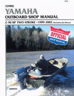 Clymer Yamaha Outboards 2-90 hp 1999-2002 2 stroke Boat Repair Manual : NOS-B786