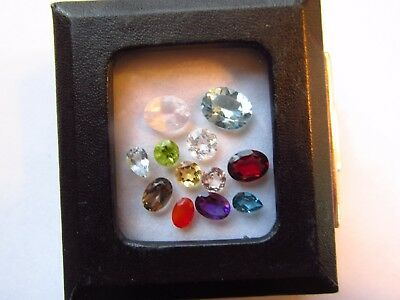 Natural Mixed Faceted Loose Gemstone Parcel Lot Morganite Fire Opal Rose