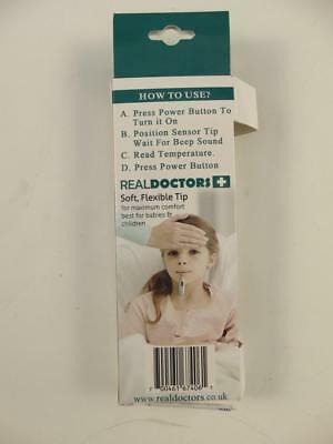 REAL DOCTORS Fieberthermometer Thermometer Rektalthermometer