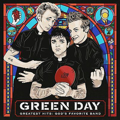 Green Day - Greatest Hits: Gods Favourite Band - New Cd Compilation
