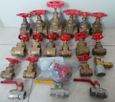 Large Selection Of Brass Gate Valves - Stop Valves & Calor 1991 Regulator