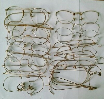 116 Grams GOLD FILLED EYEGLASS FRAME LOT SCRAP JEWELRY RECOVERY 1/10 12k GF