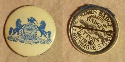 Pin: Vintage Penn. Symbol by Wink Co. Baltimore MD