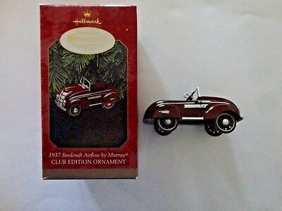 1937 Steelcraft Airflow Auto by Murray Hallmark Ornament w/ Box Club Ed 1997