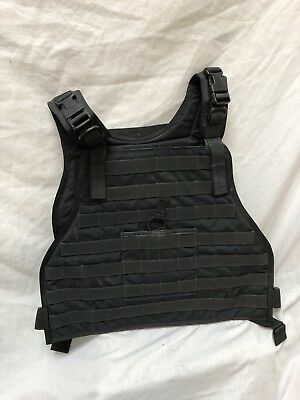 Eagle Industries Black Plate Carrier L/XL RRV Convertible