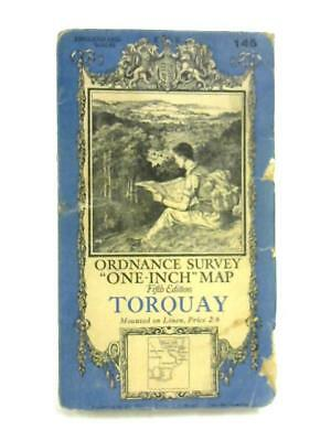Ordnance Survey One-Inch Maps: Torquay, Sheet 145 (Anon - 1938) (ID:82942)