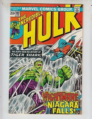 Incredible Hulk 160 GVG (3.0) 2/72 Hulk vs Tiger Shark!