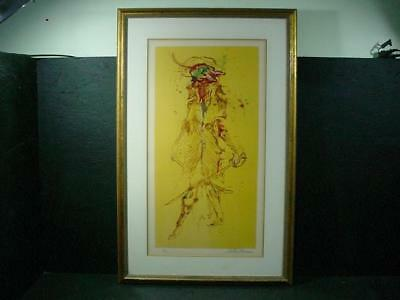 "NobleSpirit{3970} Signed/Numbered LeRoy Neiman Lithograph of ""The Captain"""