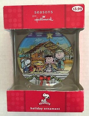 Peanuts Hallmark Christmas Holiday Ornament Snoopy, Lucy and Charlie Brown